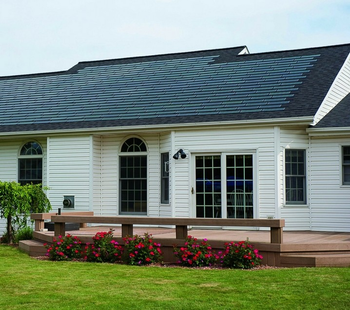 Roof-integrated solar PV power shingles